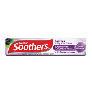 Soothers Blackcurrant 10's X 36