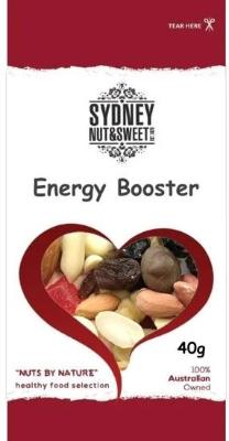 Sydney Nut and Sweet SnackPack 40g x24-Energy Booster - nutsandsweets.com.au