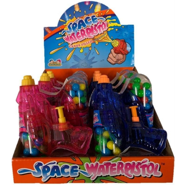 Novelty - Space Waterpistol 21G X 12 - nutsandsweets.com.au