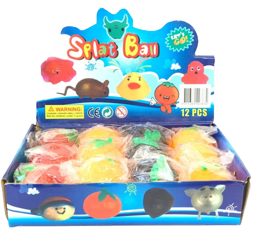 Splat Ball Assorted Kids Toys 12 PCS