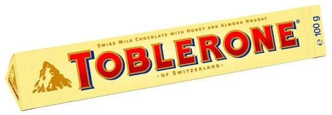 Chocolate Toblerone 100G X 20