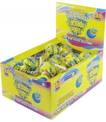 Confectionery Tornado pops 33G X 30 - nutsandsweets.com.au