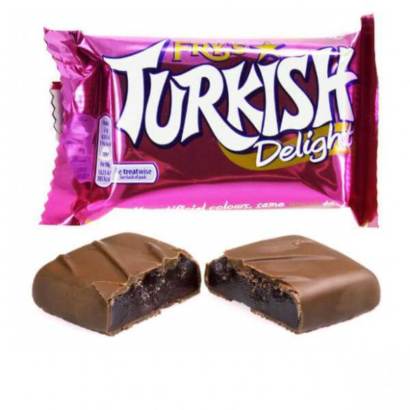 Chocolate Turkish Delight 55G x 32 - nutsandsweets.com.au