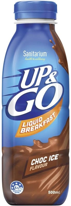 UP & GO CHOC ICE 500ML X 12