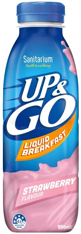 UP & GO STRAWBERRY 500ML X 12