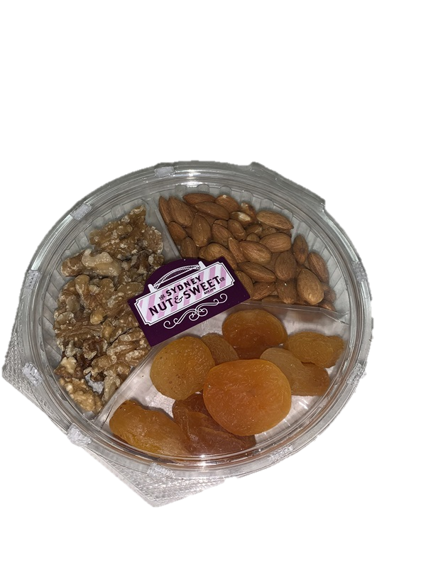 Sydney Nut & Sweet-Walnuts, Almonds and Apricot Platter