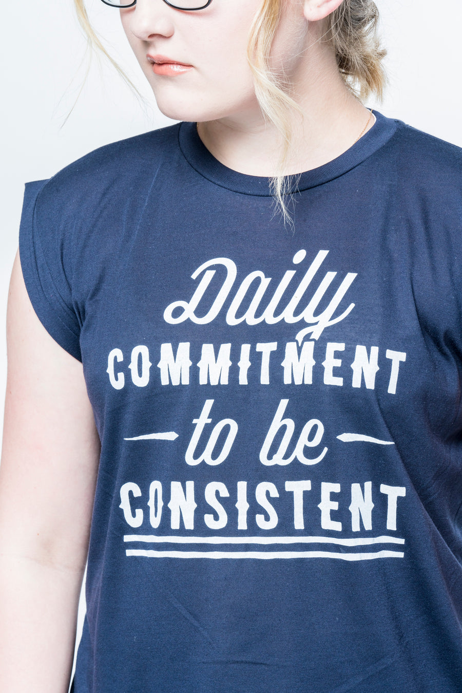 Daily Commitment to be Consistent Sleeveless Tee