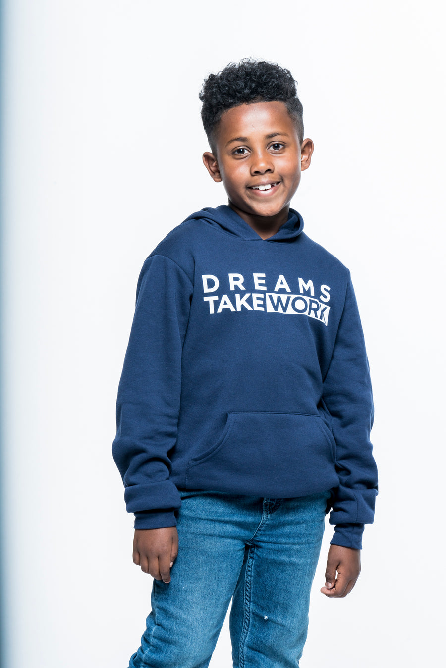 Dreams Take Work Youth Hoodie