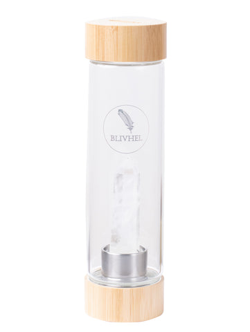Bamboo Crystal Water bottle Clarity
