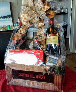 Customzed Gift Baskets - Winery Baskets
