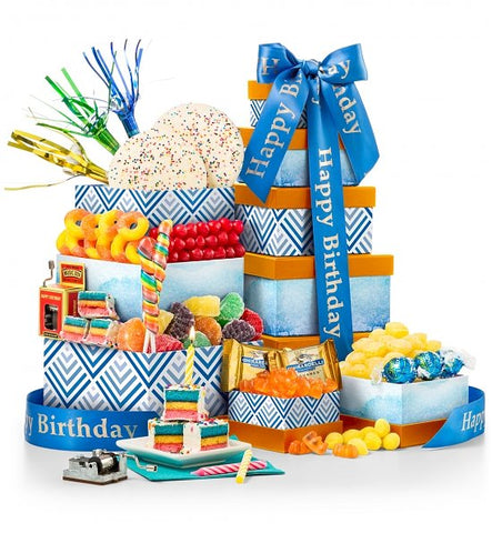Blissful Birthday Gift Basket