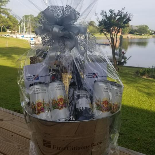 Customzed Gift Baskets with Beer