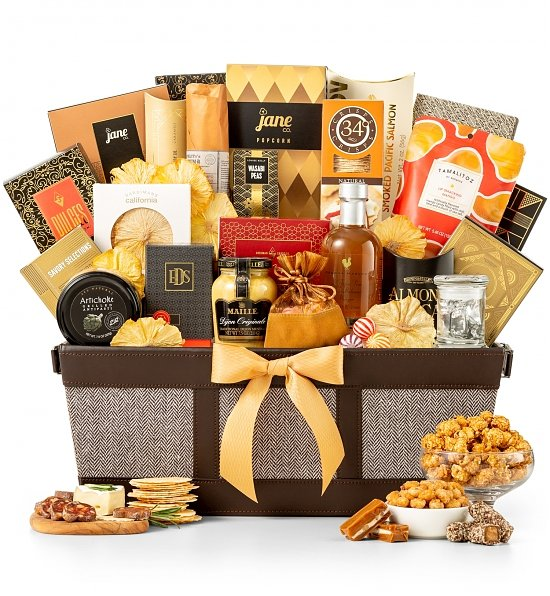 Fit for Royalty Gift Basket