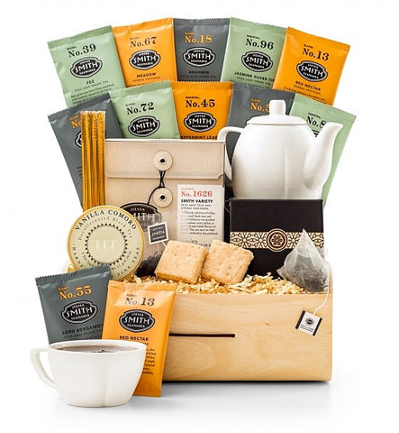 Herbal Full Leaf Tea Gift Basket