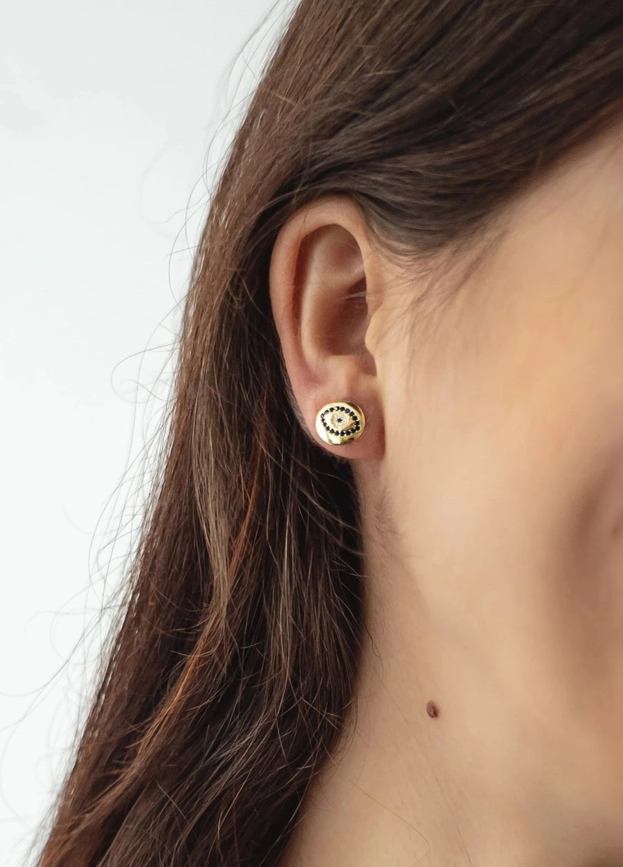 Eye Button Studs
