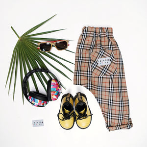Bassberry Check Trousers