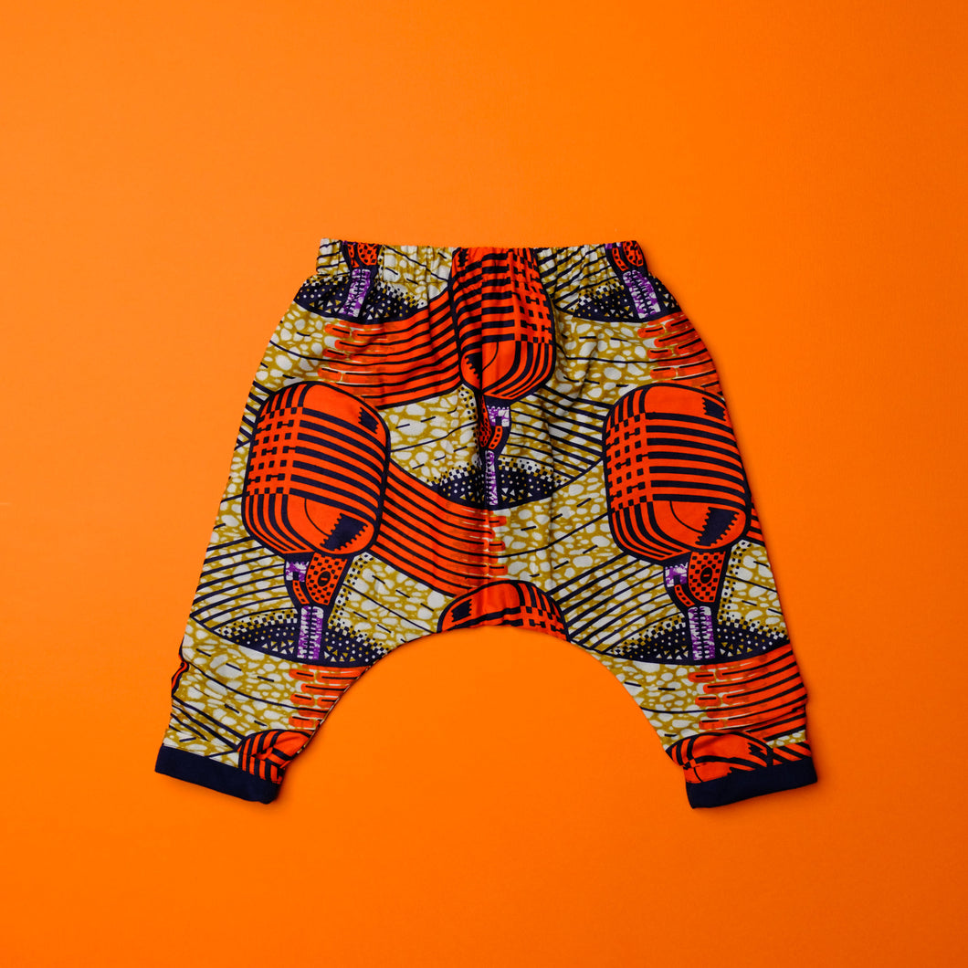 Mic Drop Rave Pant - Orange