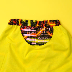 Glowstick Rave Pant - Red/Orange