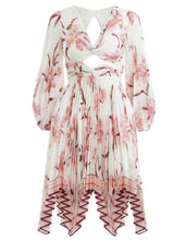 Load image into Gallery viewer, Zimmermann Corsage Pleat Mini Dress