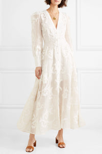 Zimmermann Radiate Applique Dress