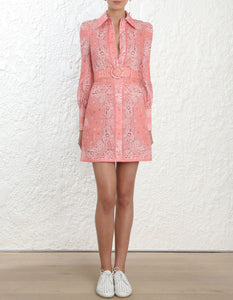 Zimmermann Bandana Shirt Dress