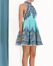 Load image into Gallery viewer, Zimmermann Moncur Ruffle Mini Dress