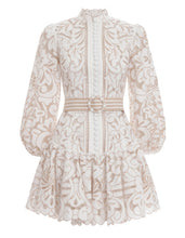Load image into Gallery viewer, Zimmermann Edie Button Down Short Dress