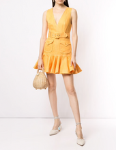 Load image into Gallery viewer, Zimmermann Super Eight Safari Mini Dress