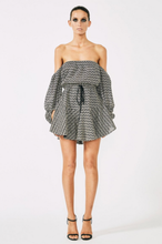 Load image into Gallery viewer, Shona Joy Danglars Off the Shoulder Mini Dress