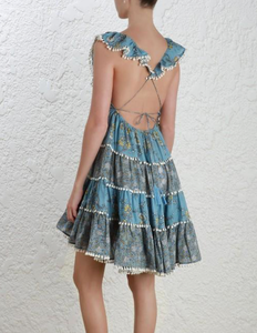 Zimmermann Caravan Tiered Sun Dress
