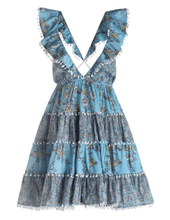 Load image into Gallery viewer, Zimmermann Caravan Tiered Sun Dress