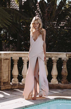 Load image into Gallery viewer, Sabo Luxe Blush Silk Maxi