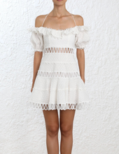 Load image into Gallery viewer, Zimmermann Melody Off The Shoulder Dress