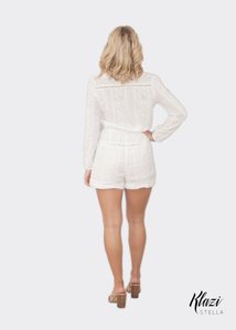 Zimmermann Georgia Embroidery Playsuit