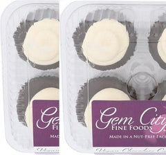 Vegan Chocolate Cupcake 4-pack (certified gluten free) 2-pack