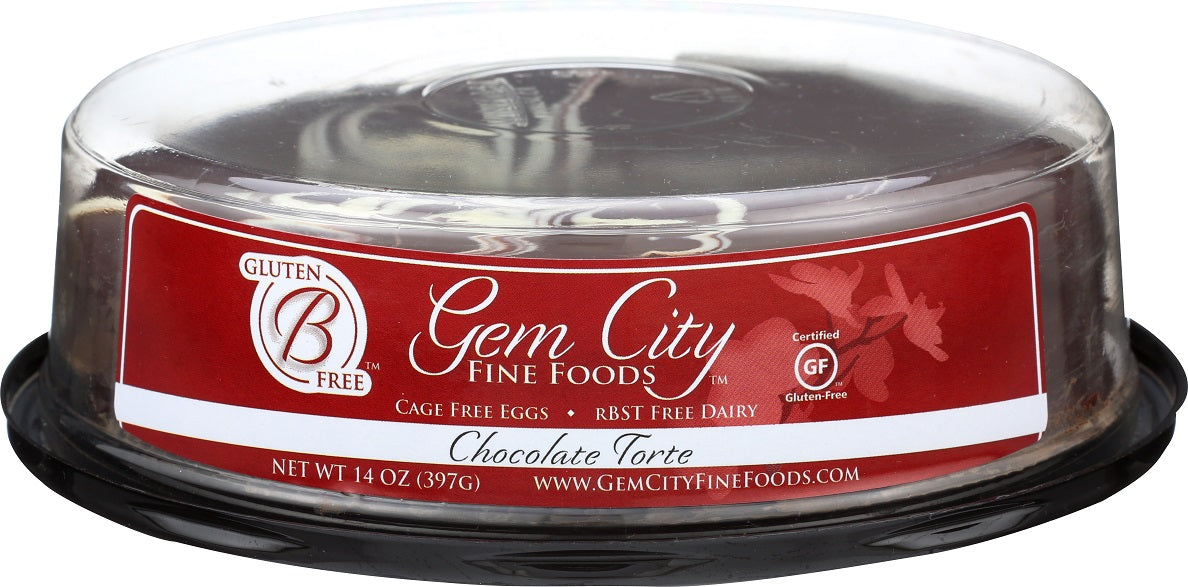 Flourless Chocolate Torte (certified gluten free), 6in.