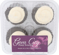 Vegan Chocolate Cupcake 4-pack (certified gluten free)