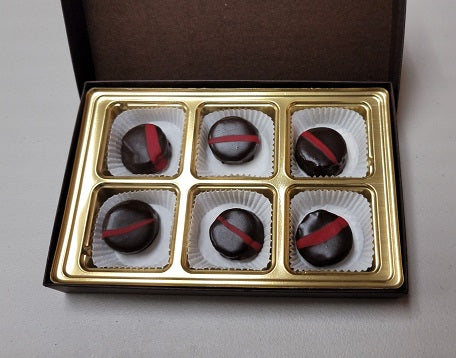 Petit Fours Gift Box- Peppermint Chocolate Torte 5-pack