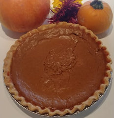Pumpkin Pie (certified gluten free), 9in.