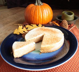 Pumpkin Cheesecake (certified gluten free)