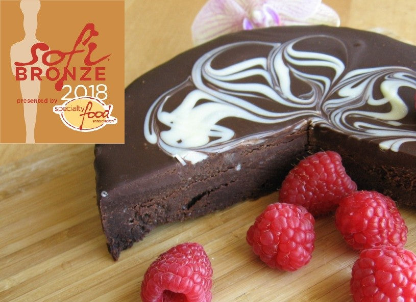 2-pack Flourless Chocolate Torte (certified gluten free), 6in. ea.