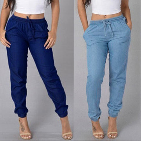 Candy Colors Elastic Sexy Skinny Pencil Jeans For Women Leggings Jeans Woman High Waist Women's Thin-Section Denim Pants