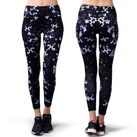 Lixada Women's Yoga Ankle Pants Tummy Control Active Workout Fitness Running Stretch Tights Leggings