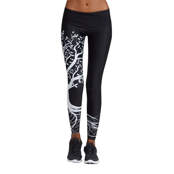 Women's Fashion  Leggings Fitness  Sexy Leggings Women High Waist Stretch Trousers Camouflage Leggins mujer Female Pants 19JAN29
