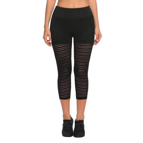 Women's sports mesh yoga pants Gym Workout sport Running yoga leggings sport Pants fitness Sexy Tights trousers for women pant #