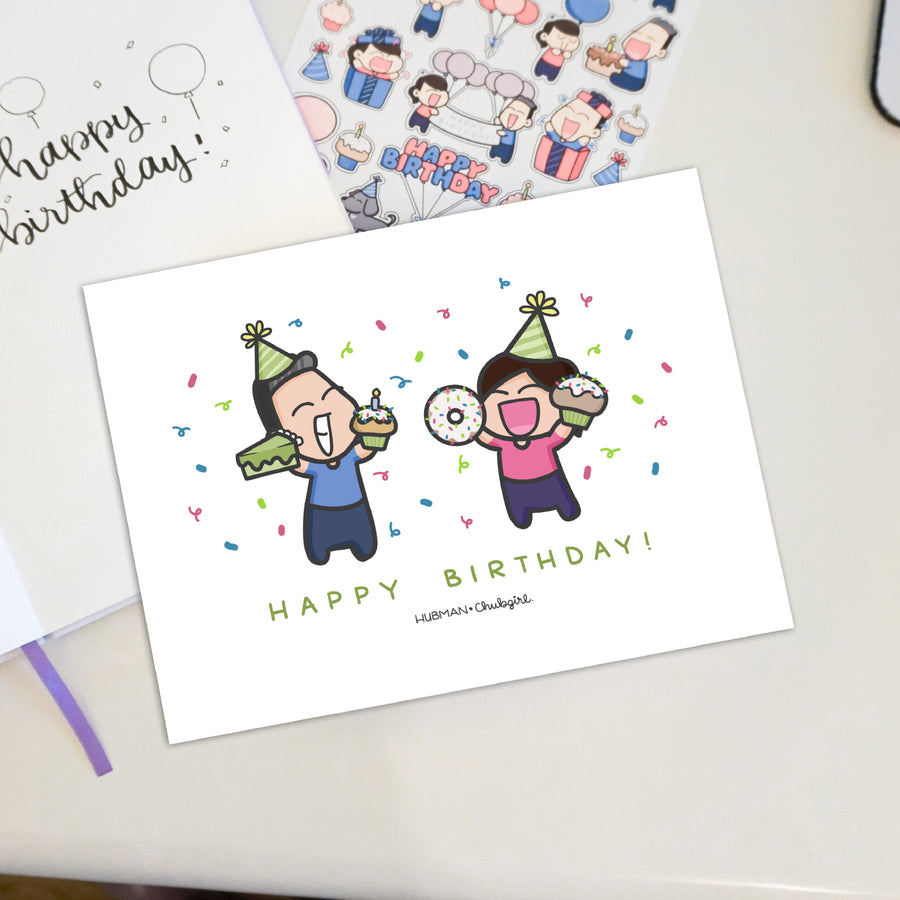 Birthday Cards [PACK OF 3] Collection 1