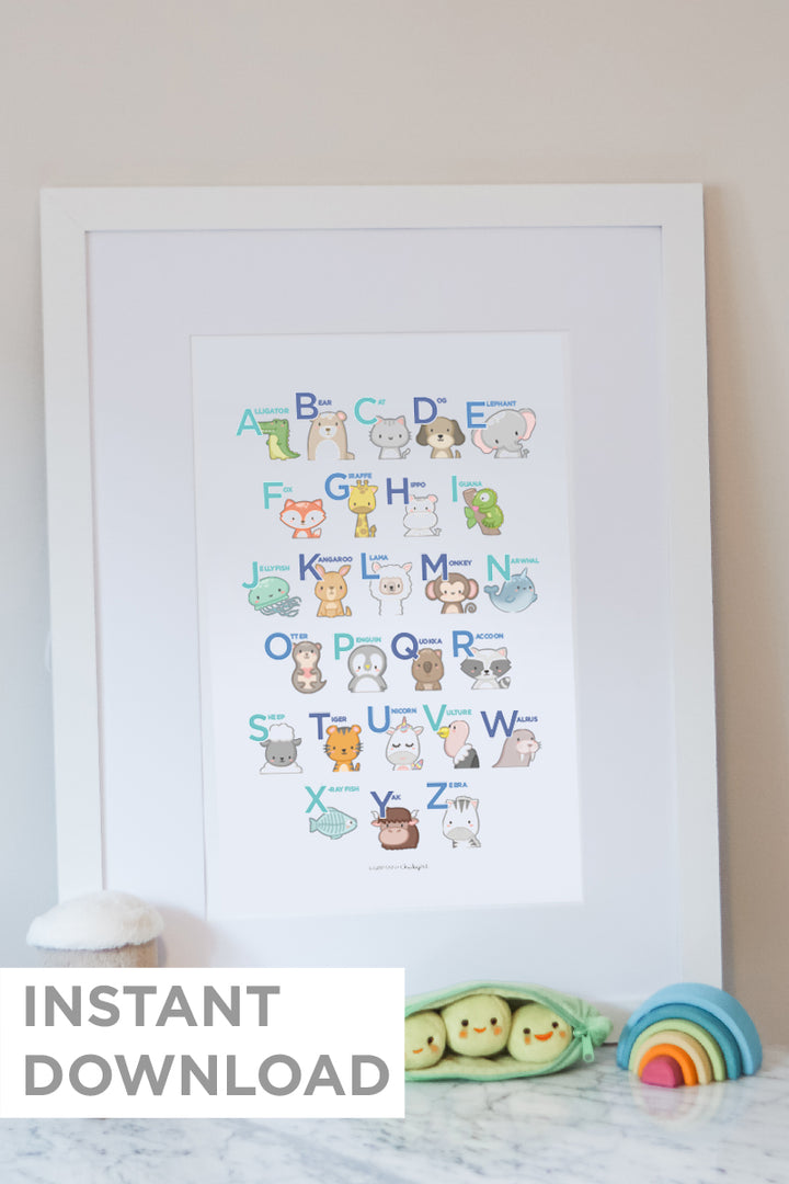 Animal ABCs - Downloadable Print