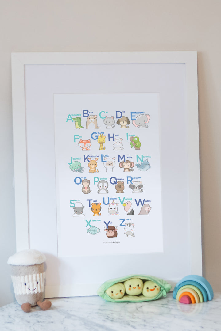 Animal ABCs - Physical Print