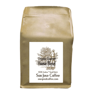 Organic Gourmet House Blend Coffee-Coffee-One Great Coffee