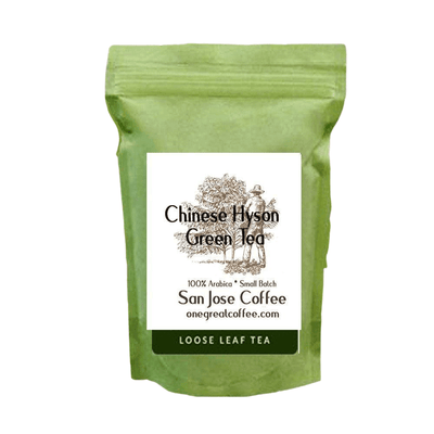 Chinese HySon Green Tea-Loose Leaf Tea-One Great Coffee